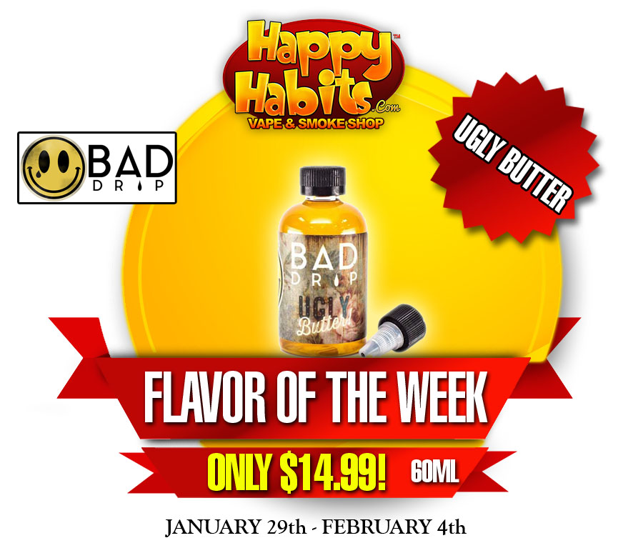 Flavor of the week happy habits for Naked fish e juice